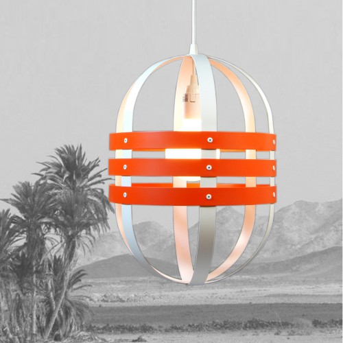 SUSPENSION D20 ORANGE MATALI CRASSET