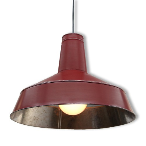 SUSPENSION GALVA 3808 ROUGE