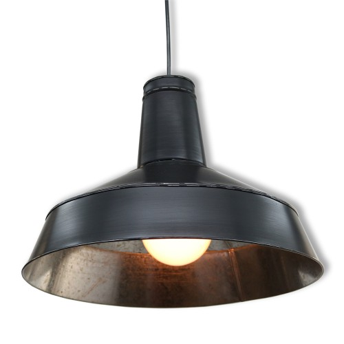 SUSPENSION GALVA3808 NOIR