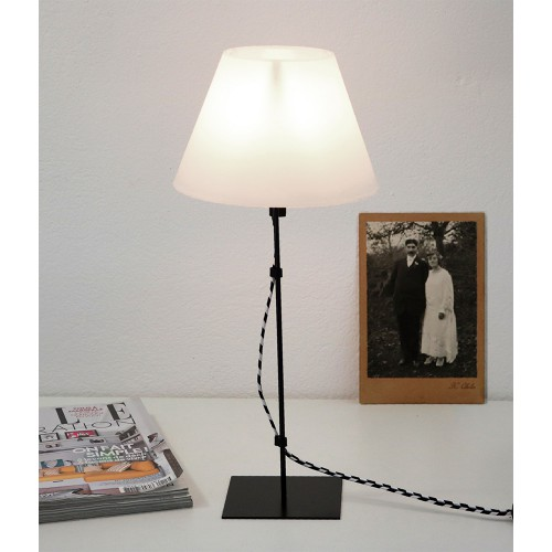 LAMPE FIL CABLE TEXTLE ARLEQUIN
