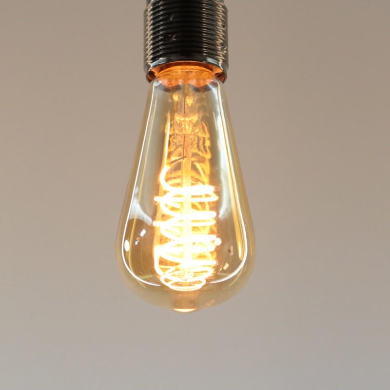 ampoule led deco 64 3w 2200k 1100lm. Black Bedroom Furniture Sets. Home Design Ideas