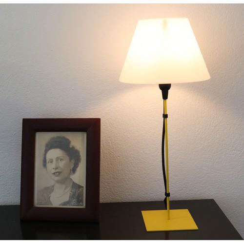 LAMPE FILS VIOLET