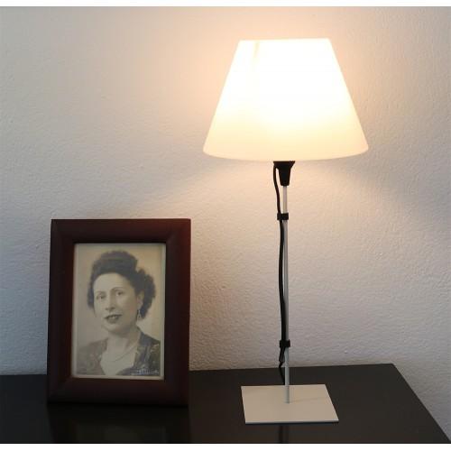 LAMPE FILS GRIS CLAIR
