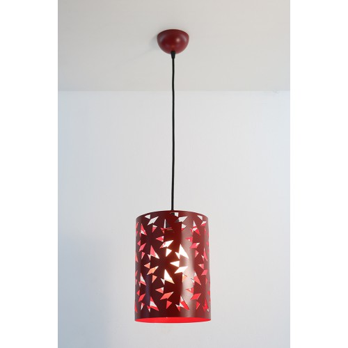 SUSPENSION MAGUY ROUGE Ø 20CM