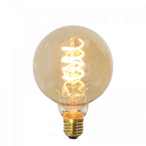 AMPOULE LED DECORATIVE GLOBE Ø95 FILAMENT SPIRALE