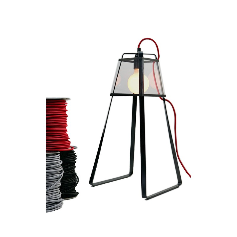 LAMPE LU2 CABLE ROUGE