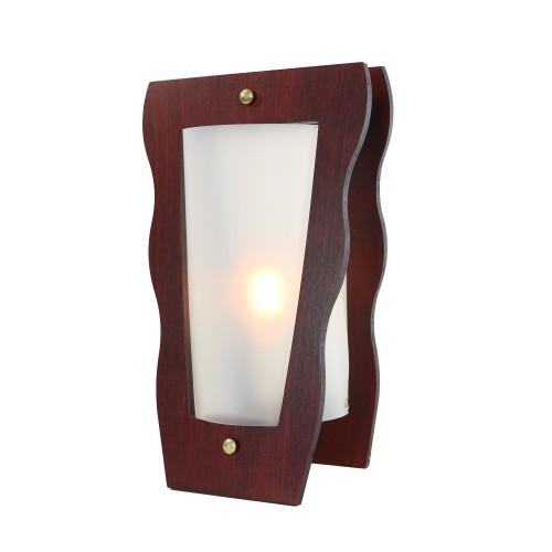 LAMPE VASE PALISSANDRE/OPALE