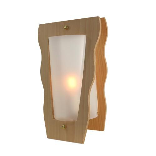 LAMPE VASE NATUREL/OPALE