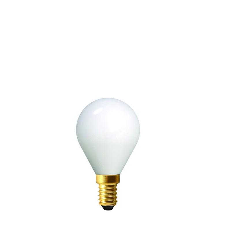 AMPOULE LED GOLFBALL E14 FULLGLASS
