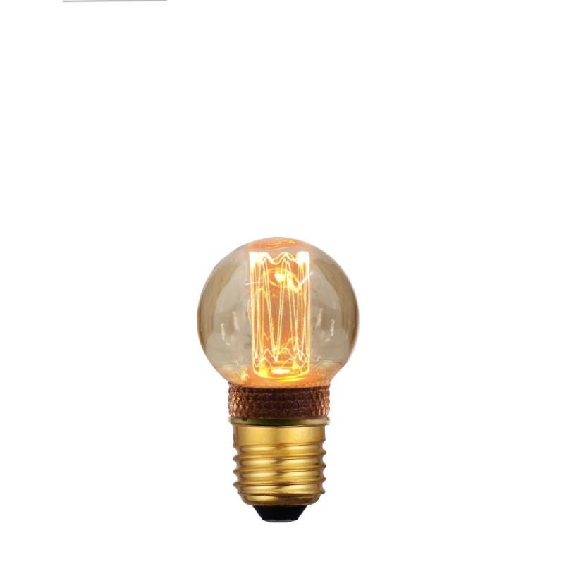 AMPOULE LED SPHERIQUE 45 VINTAGE