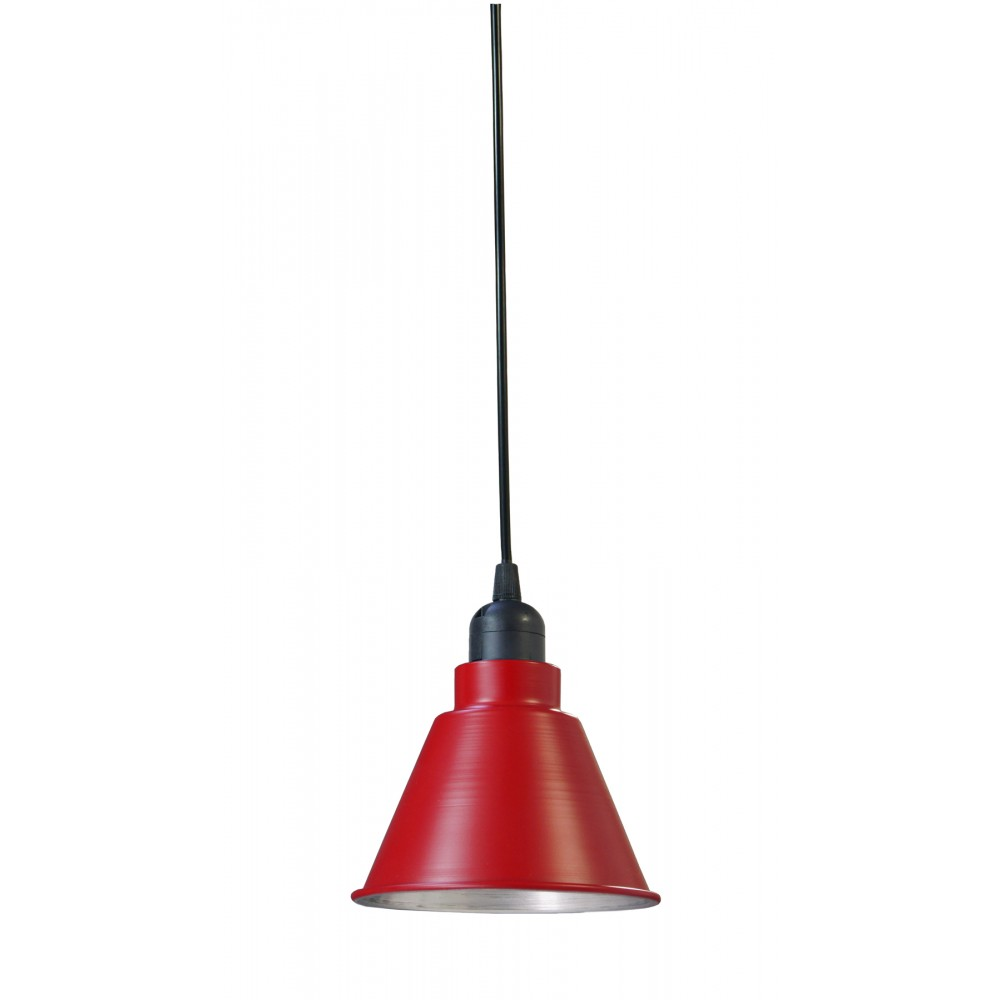 Gerard lamy suspension spot rouge for Suspension rouge