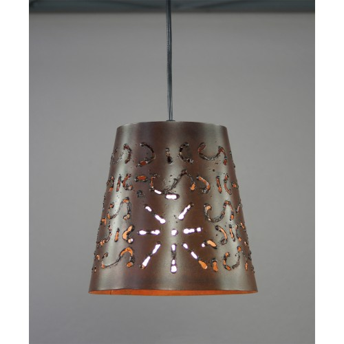SUSPENSION BIZERTE 1812 ACIER CORTEN