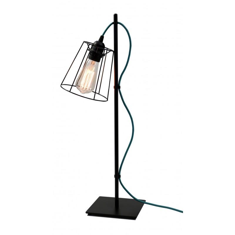 LAMPE AIRBIS CABLE BLEU CANARD