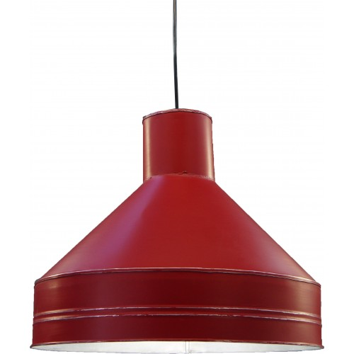 SUSPENSION GALVA Ø 40 CM 4010 ROUGE