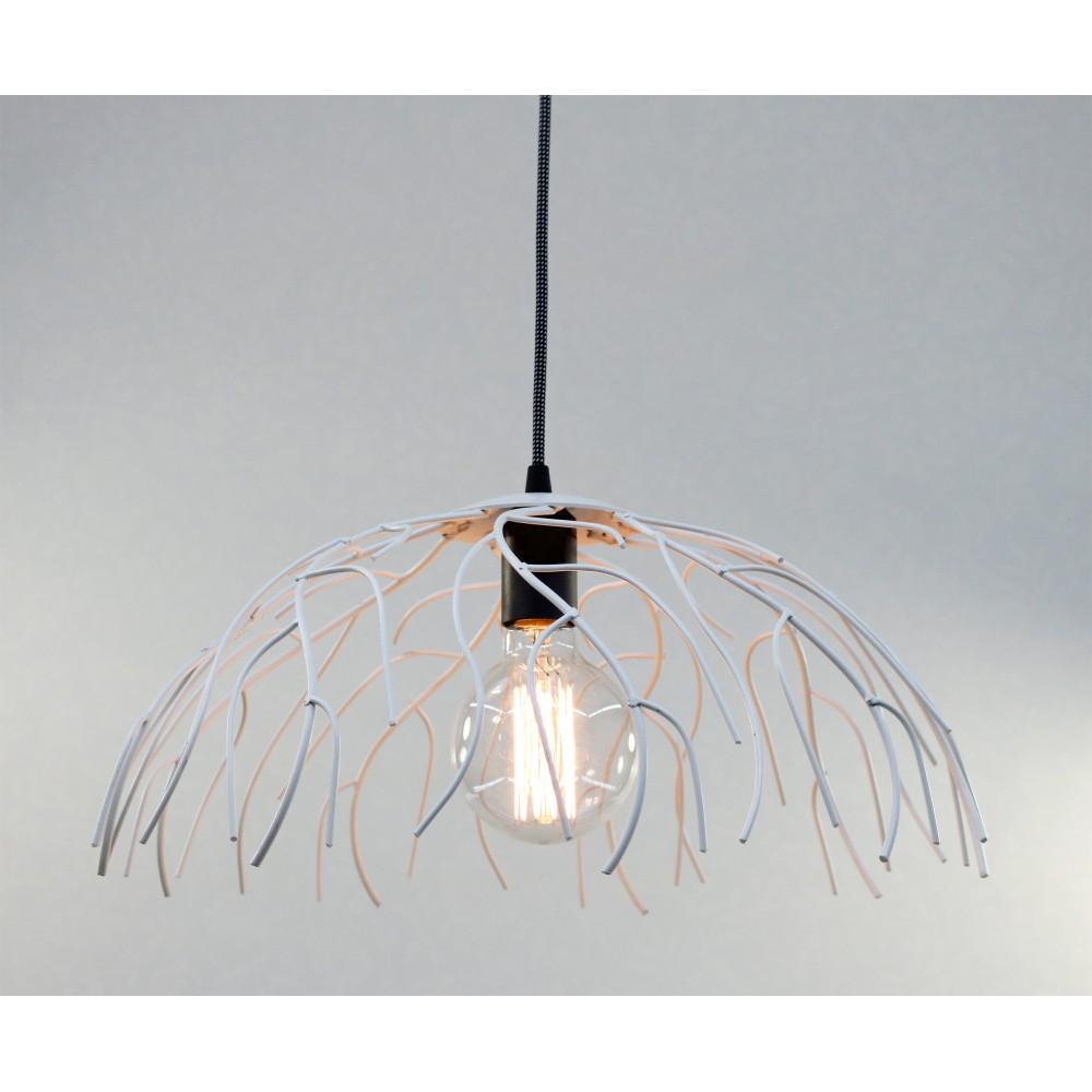 gerard lamy suspension sfax blanc noir fil metal. Black Bedroom Furniture Sets. Home Design Ideas