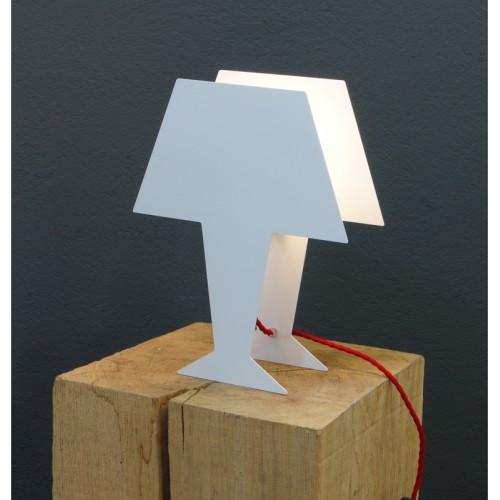 LAMPE HOLO BLANC