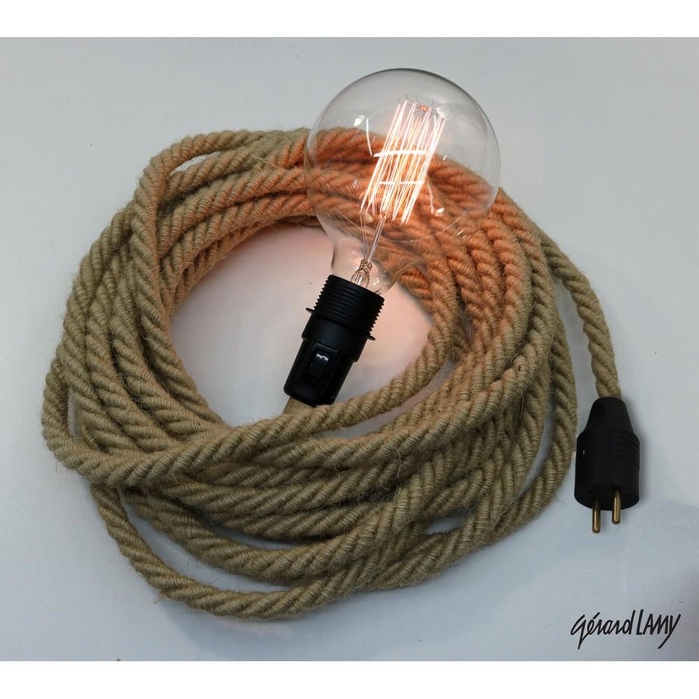 Cordon Electrique Pour Lampe baladeuse corde décorative à déplacer selon vos envies