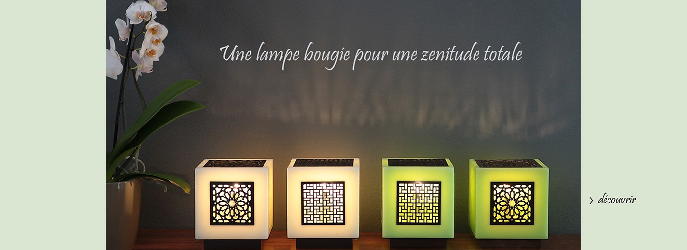 lampe bougie